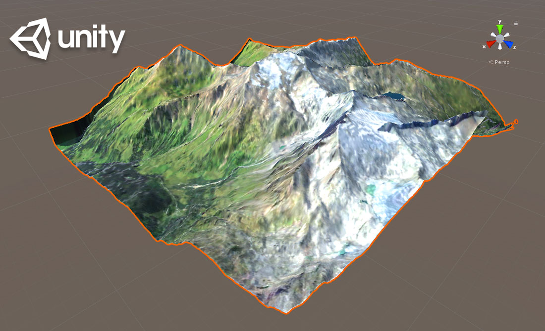 How to create a terrain from heightmap and texture in Unity - 3d