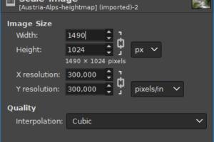 GIMP-scale image