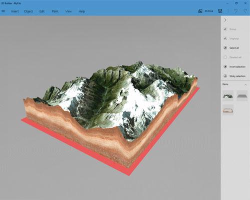 3D print your 3D map - 3d-mapper com - Create custom 3D maps