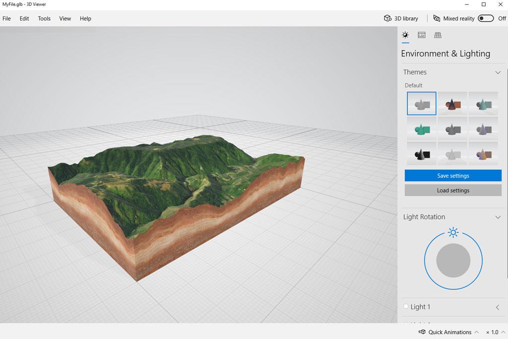 Examples - 3d-mapper com - Create custom 3D maps online